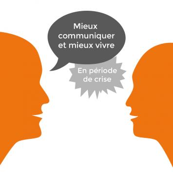 Pictogramme communiquer en période de crise