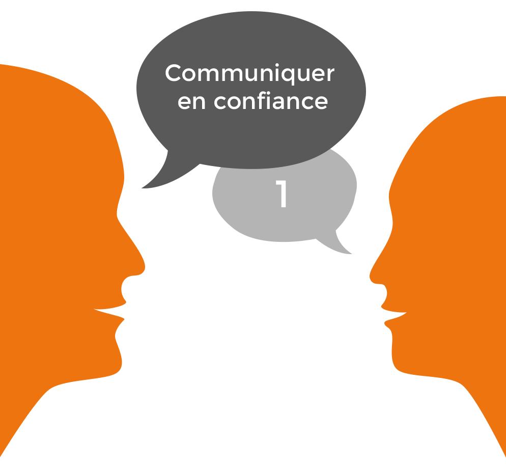 Pictogramme communiquer en confiance 1