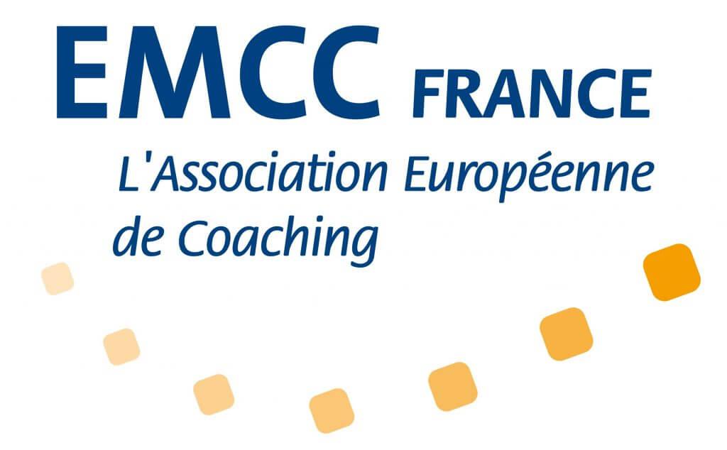 Logo de l'association européenne de coaching EMCC, fédération de coachs professionnels formés et certifiés